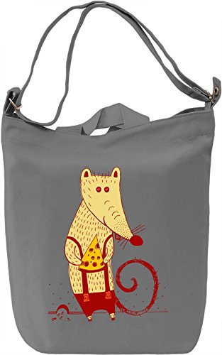 Mouse With Cheese Borsa Giornaliera Canvas Canvas Day Bag| 100% Premium Cotton Canvas| DTG Printing|