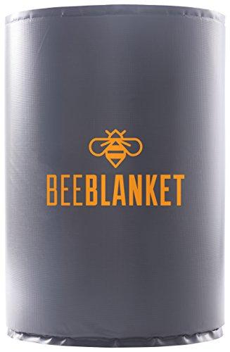 Powerblanket BB55 Bee Blanket 55 gal Drum Heater, Honey with Fixed TSTAT, 800W, 120V