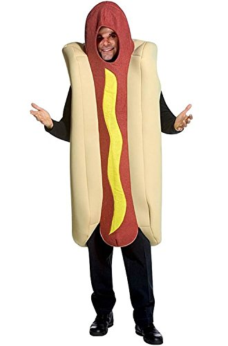 Wonder Woman Costume Hot (Deluxe Hot Dog Adult Costume)