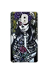 LarryToliver Customizable Awesome Beautiful Skull Arts Background image samsung note 3 Case / Cover Your Phone #6