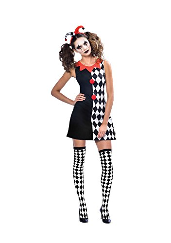 SP Funworld Harlequin Women Costume Adult Standard Size