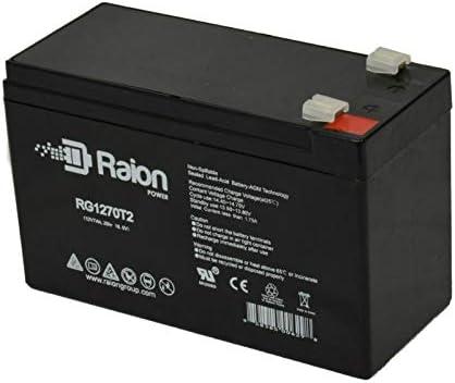 Raion Power RG1270T2 12V 7Ah Replacement UPS Backup Battery for APC Smart-UPS XL SUA2200RMXL3U 8 Pack