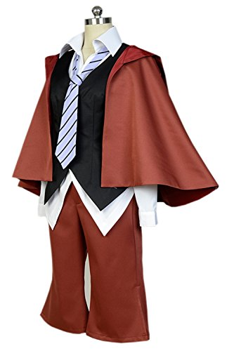 Invisible Man Costume 2016 (Costhat Bungou Stray Dogs Ranpo Edogawa Uniform Outfit Suit Cosplay Costume)