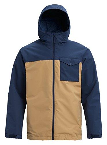(Burton Men's Portal Jacket, Mood Indigo/Kelp, X-Large )
