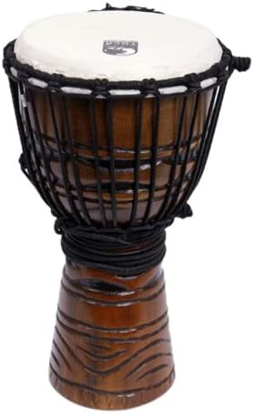 Djembe 8'Origins Series African Mask TODJ-8AM Toca