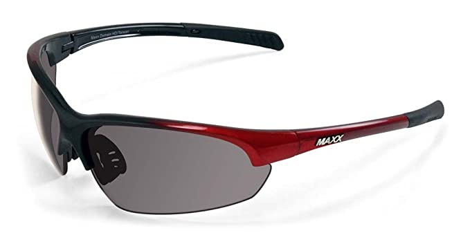 e836c3db12 Image Unavailable. Image not available for. Color  2017 Maxx Sunglasses  TR90 Maxx Domain Red Polarized Smoke Lens