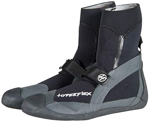 Hyperflex Pro Series Round Toe Surfing Boots / Booties available in 3 thicknesses, 3mm / 5mm / 7mm