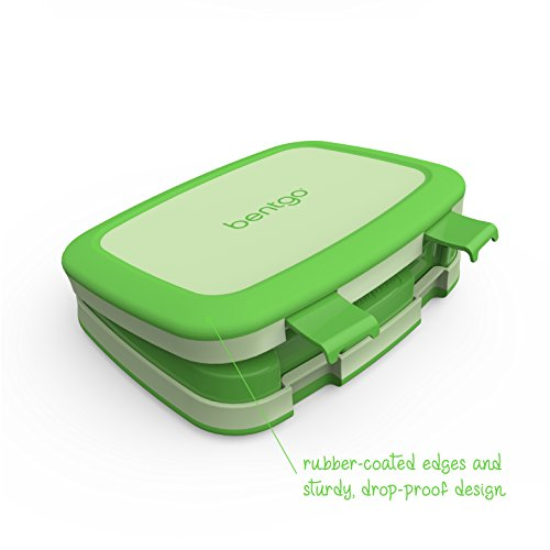 Bentgo Kids Childrens Lunch Box  BentoStyled Lunch Solution Offers Durable LeakProof OntheGo Meal and Snack Packing
