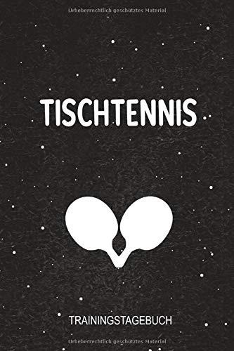 Tischtennis Trainingstagebuch: 120 Seiten 6x9 Schwarz. Perfekt zum festhalten von Trainingsfortschritten bei Tischtennis Spielern. por Tischtennis Notizbücher
