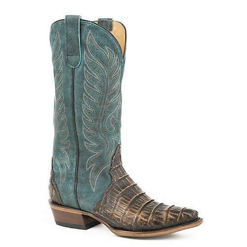 Roper Ladies Trudy Triad Snip Toe Turq Boots 10.5