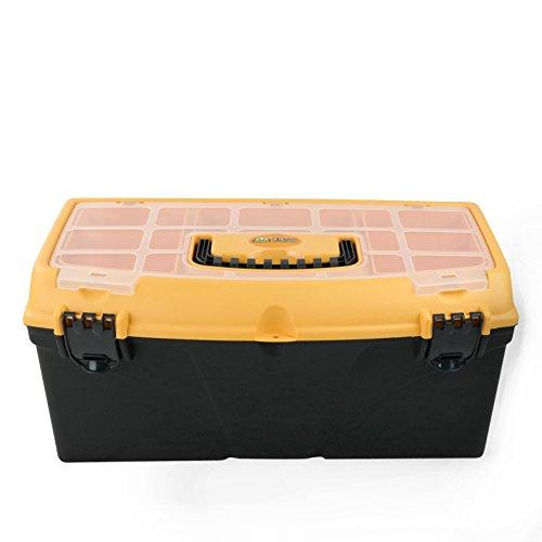 HOMMP 16-Inch Plastic Tool Box