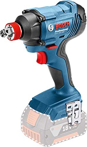 Bosch Professional 06019G5204 Rotary Impact Wrench GDX 18V-180 Without Battery, 18 V, Max. Torque: 180 Nm, in Box