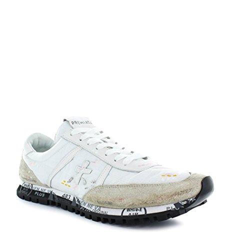 PREMIATA Zapatos de Hombre Zapatillas Sean 2892 Blanca Primavera Verano 2018