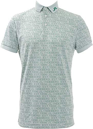 J.リンドバーグ ゴルフ Bブリッジパターン 半袖シャツ メンズ 071-29444【柄ホワイト(02)46Mサイズ】