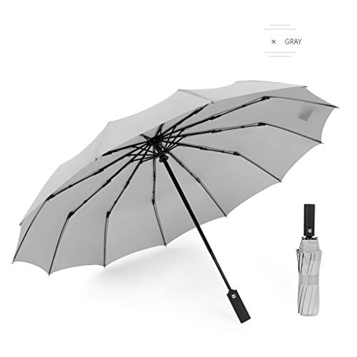 OrchidAmor Large Umbrella Men/Women Three Folding Anti-UV Windproof Rain Umbrella 2019 New Fashion ()