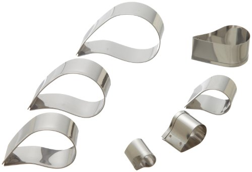 Ateco-Plain-Edge-Cutters-Stainless-Steel-6-Pc-Set