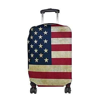 d50e8a8846db DEYYA American Flag Spandex Travel Luggage Cover Baggage Suitcase ...