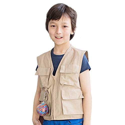 Explorer's Weighted Vest - Helps With Mood & Attention, Sensory Over Responding, Sensory Seeking, Travel Issues
