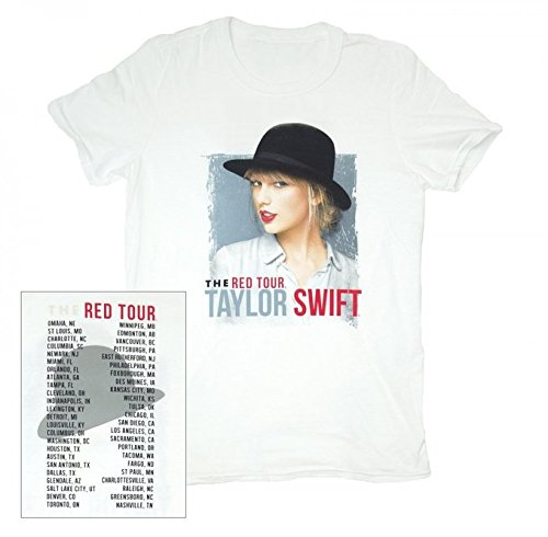 TAYLOR SWIFT T-SHIRT VINTAGE The Red Tour Tee (Youth Small)