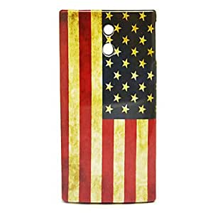 Smooth Lightweight Colorized Plastic Back Cover Hard Case for Sony LT22i Xperia P
