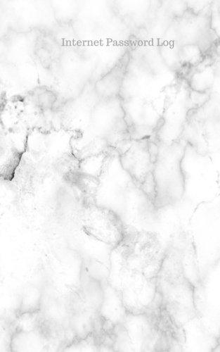 Internet Password Log: White Marble Stunning Design at Glace, Username & Password Keeper, Net Log Book Organizer, Cream Paper, Pocket (Stunning Cream)