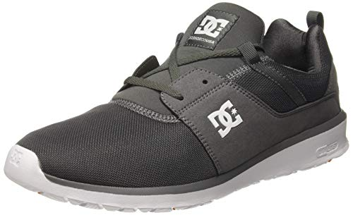 DC Shoes Mens Heathrow Pewter Mesh Trainers 11 US