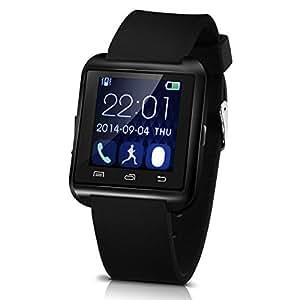 U8 Plus whatsapp smartwatch Bluetooth 4.0 pantalla (Negro ...