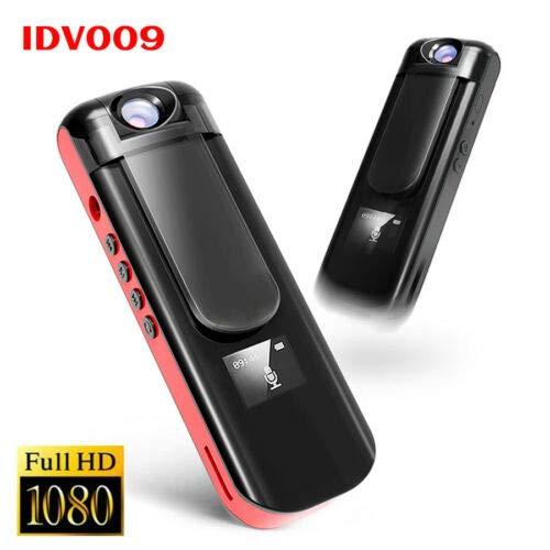 【70%OFF】 FidgetGear フルHD 1080 PミニカメラビデオレコーダーペンスパイセキュリティビデオカメラDV DVR 赤   B07QMMNNPK, PICCOLOピッコロ 161eb500