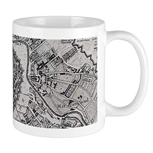 CafePress Vintage Map Of Vienna Austria (1780) Mugs Unique Coffee Mug, Coffee (Old Vienna Beer)