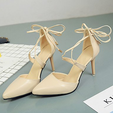 Stiletto Party Lace 5 Women'sHeels Wedding Dress PU 7 Evening Summer US6 CN37 5 Spring Shoes UK4 Heel Club amp; 5 up EU37 FYios fqn0AgOO