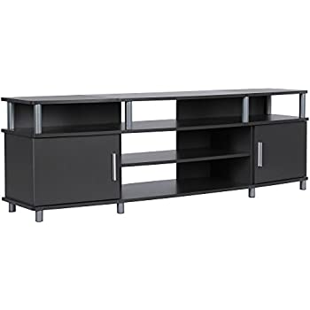 """Ameriwood Home Carson TV Stand for TVs up to 70"""", Gray"""