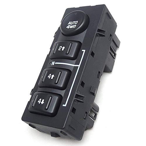 4x4 4wd Switch 901072 for Chevy Silverado GMC Sierra 4 Wheel Drive Switch Transfer Case Replace 15136039 15164520 (Gmc Transfer Case)