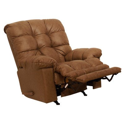Cloud Ten Leather Chaise Recliner Color: Mushroom