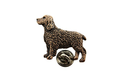 (Springer Spaniel Pin ~ Antiqued Copper ~ Lapel Pin ~ Sarah's Treats & Treasures )