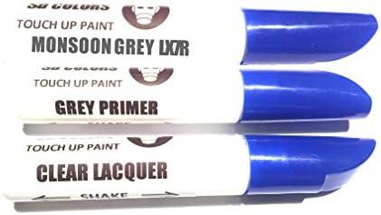 Sd Colors Neue Ausbesserungsfarbe Monsungrau Lx7r Reparatur Kratzen 12ml Farbcode Lx7r Farbe Klarlack Grundierung Auto