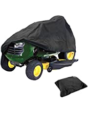 FLR Lawn Tractor Cover Waterproof Dustproof Riding Mower Cover Lightweight UV Protection Riding Lawn Mower Cover for Your Ride-On Garden Tractor XS 54x26x35 inches