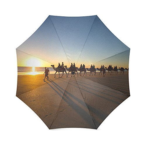 Umbrella Silhouette Custom Umbrella Automatic Folding Umbrella Rainproof /& Windprrof