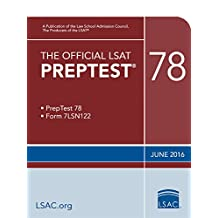 The Official LSAT PrepTest 78 (Official LSAT PrepTests)