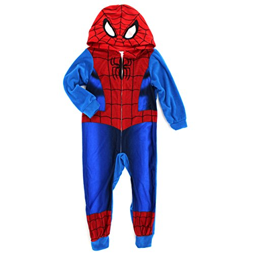 Spider Man Fleece Blanket Sleeper Pajamas product image