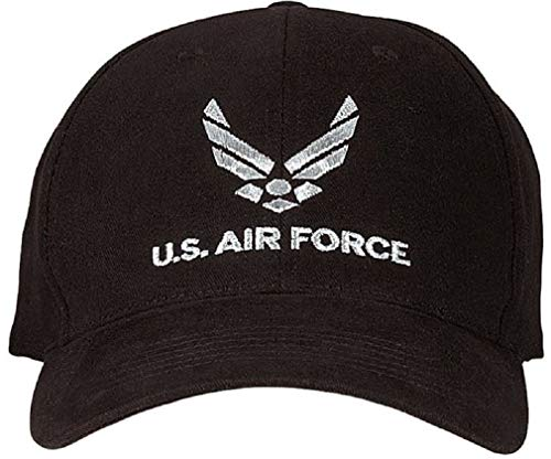 U.S. Air Force Low Profile Cap Black