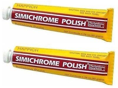 SIMICHROME All Metal Polish 50 Gram Tube 1.76 oz - 2 ()