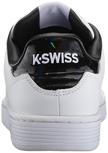 Hologram White Sneakers Blanc Femme K Swiss Black Clean Basses CMF Court wAPFPvq