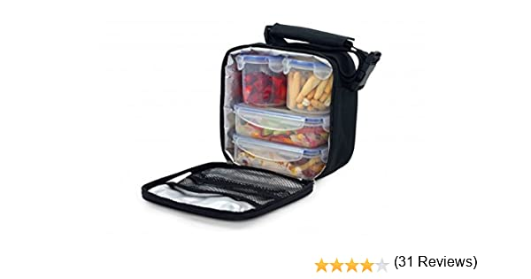 Magefesa Picnic- Bolsa térmica porta alimentos para llevar comida, 4 contenedores herméticos: Magefesa: Amazon.es: Hogar