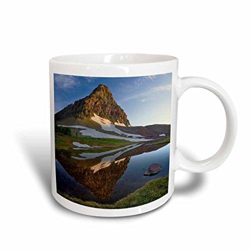 3dRose Logan Pass, Glacier National Park, Montana US27 AJE0064 Adam Jones Ceramic Mug, 11-Ounce ()