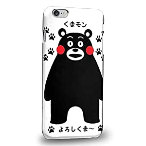 Case88 Premium Designs Kumamon Protective Snap-on Hard Back Case Cover for Apple iPhone 6 Plus 5.5""