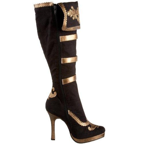 Gold Black Gold Leg and Black Boots Pirate Women's Avenue qAqf8w7U