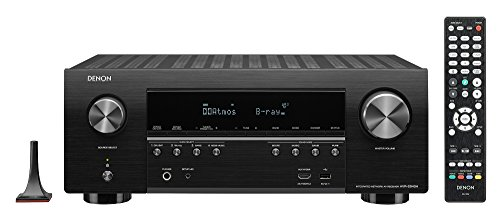 Denon AVR-S940 Receiver, 185W Power, 7.2 Channel 4K Ultra HD Video, Amazing 3D Dolby Surround Sound, Music Streaming System, Alexa Control, HEOS Wireless Speaker Expansion, TV and Projector Outputs