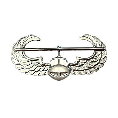 Army Air Assault Badge Silver Regulation Size Real Badge for Uniforms