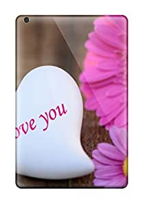 Perfect Fit YROqfVF11596WeCIP I Love You Flowers Case For Ipad - Mini/mini 2