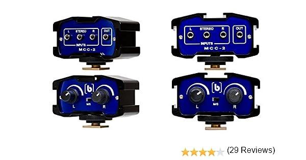 Beachtek Beachtek MCC-2 - Adaptador de audio con micrófono de ...